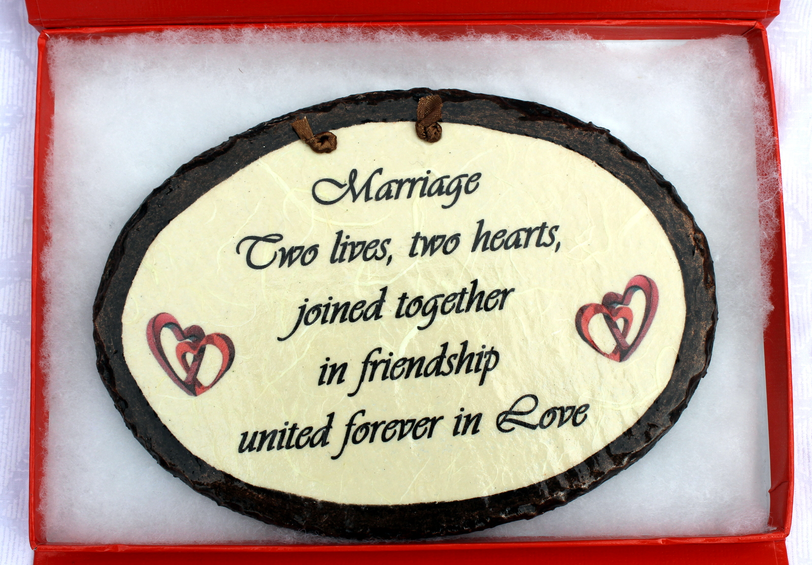 A welcome change... Marriage